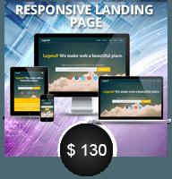 ResponsiveLanding page